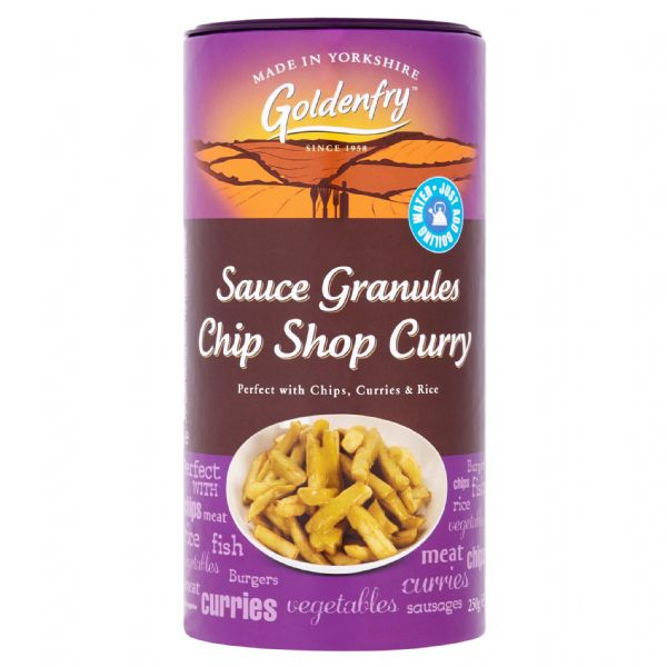 Chip Shop Curry Sauce Granules Goldenfry Tub 250g
